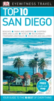 Top 10 San Diego, Paperback Book