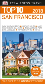 Top 10 San Francisco : 2018, Paperback Book