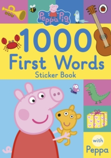 Peppa Pig: 1000 First Words Sticker Book, Paperback Book