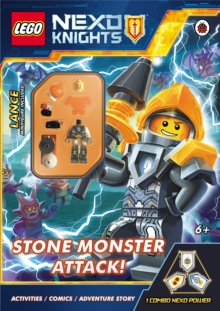 LEGO Nexo Knights: Stone Monster Attack!, Paperback Book