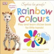 Sophie la girafe Rainbow Colours : Play-and-Learn Sticker Book for Little Hands!, Paperback Book