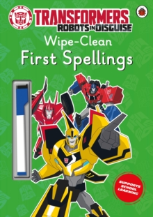 Transformers: Robots in Disguise - Wipe-Clean First Spellings, Paperback Book