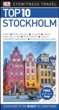 DK Eyewitness Top 10 Stockholm, Paperback / softback Book