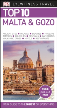 Top 10 Malta and Gozo, Paperback Book