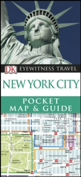 DK Eyewitness New York City Pocket Map and Guide, Paperback / softback Book