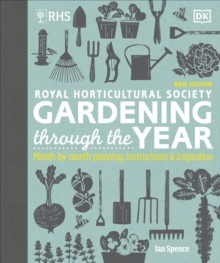 RHS Gardening Through the Year : Month-by-month Planning Instructions and Inspiration, Hardback Book