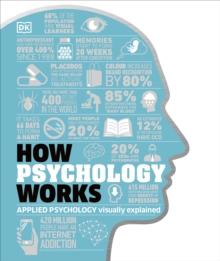 How Psychology Works : Applied Psychology Visually Explained, Hardback Book