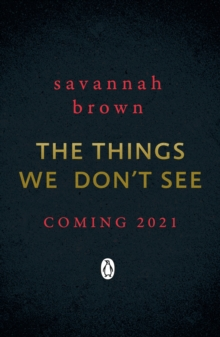 The Things We Don't See, Paperback / softback Book