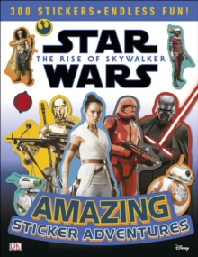 Star Wars The Rise of Skywalker Amazing Sticker Adventures, Paperback / softback Book