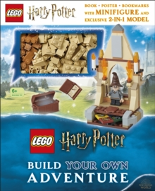 LEGO Harry Potter Build Your Own Adventure : With LEGO Harry Potter Minifigure and Exclusive Model, Hardback Book