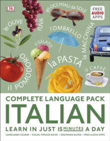 Complete Language Pack Italian : Learn in just 15 minutes a day, Paperback / softback Book