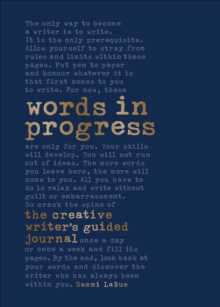 Words In Progress, Hardback Book