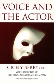 Voice and the Actor, Paperback Book