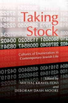 Taking Stock : Cultures of Enumeration in Contemporary Jewish Life, Paperback / softback Book