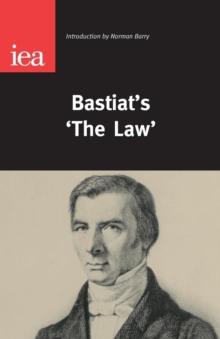 Bastiat's 'The Law', Paperback / softback Book