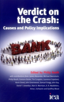 Verdict on the Crash : Causes and Policy Implications, Paperback Book