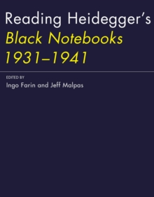 Reading Heidegger's Black Notebooks 1931--1941, Hardback Book