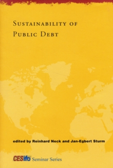 Sustainability of Public Debt, Hardback Book