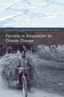 Fairness in Adaptation to Climate Change, Paperback / softback Book