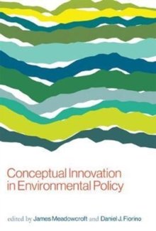 Conceptual Innovation in Environmental Policy, Paperback / softback Book