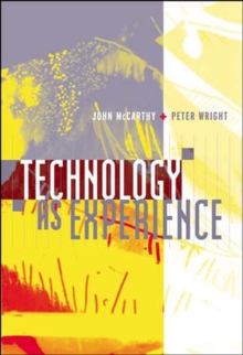 Technology as Experience, Paperback Book