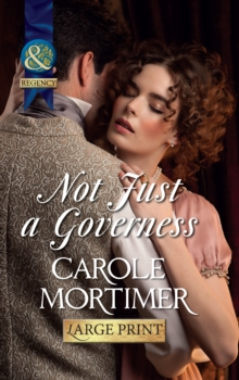 Not Just A Governess, Hardback Book