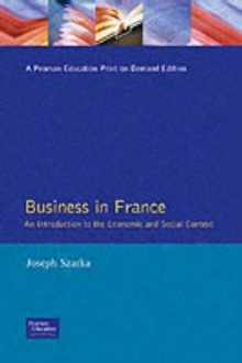 Business in France, Paperback Book