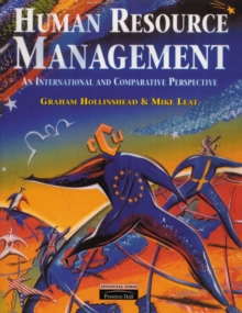 Human Resource Management : An International and Comparative Perspective, Paperback Book