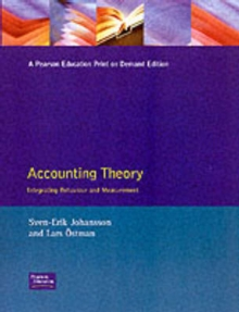 Accounting Theory An Integrated Behavioural & Measurement Aspect, Paperback / softback Book