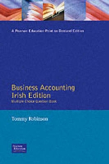 Business Accounting for Irish Students : A Foundation Course Multiple-Choice Question Book, Paperback Book