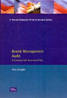 Brand Management Audit, Paperback / softback Book