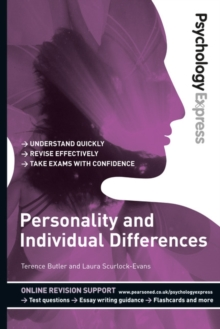 Psychology Express: Personality and Individual Differences (Undergraduate Revision Guide), Paperback / softback Book