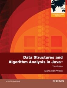 Data Structures and Algorithm Analysis in Java : International Edition, Paperback Book