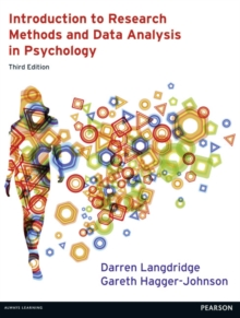 Introduction to Research Methods and Data Analysis in Psychology 3rd edn, Paperback / softback Book