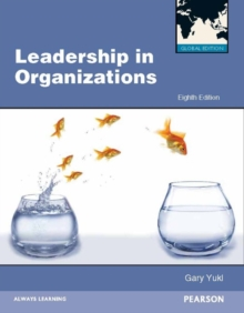 Leadership in Organizations Global Edition, Paperback / softback Book