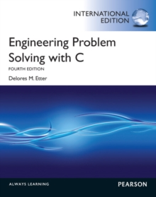 Engineering Problem Solving with C: International Edition, Paperback / softback Book
