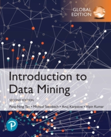 Introduction to Data Mining, Global Edition, Mixed media product Book