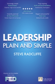 Leadership : Plain and Simple, Paperback / softback Book