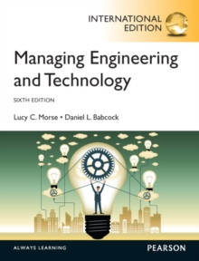 Managing Engineering and Technology, International Edition, Paperback / softback Book