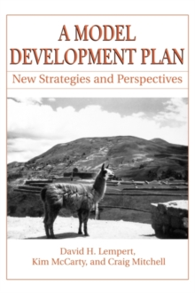A Model Development Plan : New Strategies and Perspectives, Paperback / softback Book
