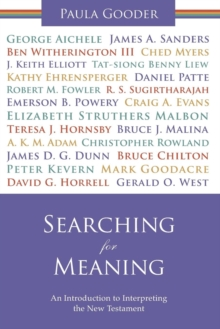 Searching for Meaning : An Introduction to Interpreting the New Testament, Paperback / softback Book