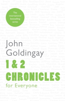1 and 2 Chronicles for Everyone, Paperback Book