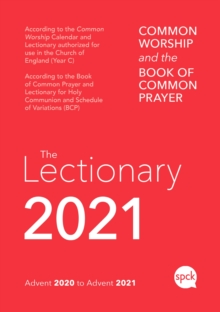 Common Worship Lectionary 2021, Paperback / softback Book