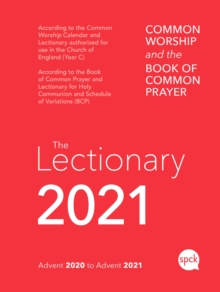 Common Worship Lectionary 2021 Spiral Bound, Paperback / softback Book