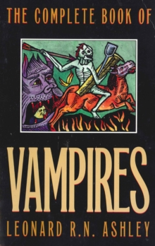 Complete Book of Vampires, Paperback Book