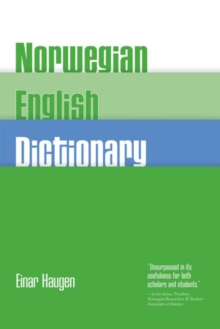 Norwegian-English Dictionary, Paperback / softback Book