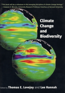 Climate Change and Biodiversity, Paperback / softback Book