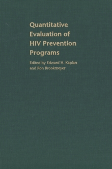 Quantitative Evaluation of HIV Prevention Programs, EPUB eBook