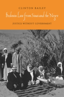 Bedouin Law from Sinai and the Negev, PDF eBook