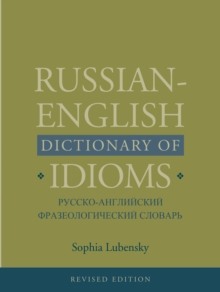 Russian-English Dictionary of Idioms, PDF eBook